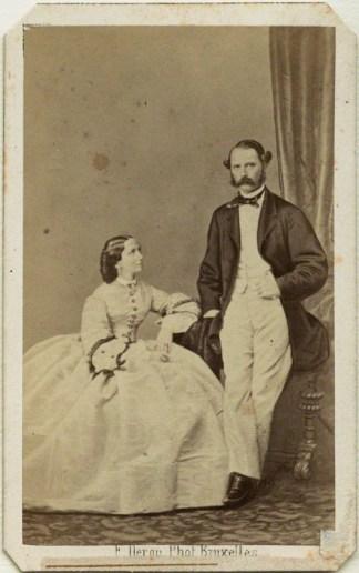 by FranÁois Deron, albumen carte-de-visite, early 1860s
