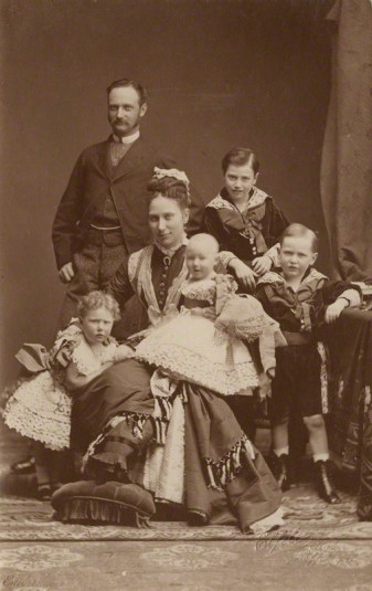 by Elfelt, vintage postcard print, (circa 1877)
