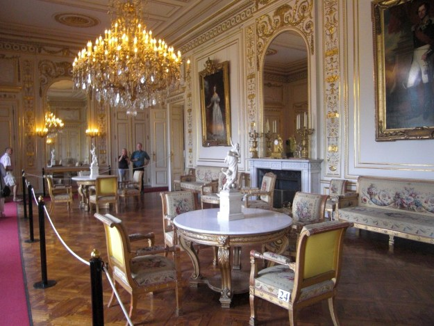 The Large White Drawing Room. photo © Susan Flantzer