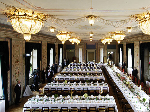 The Banqueting Hall. source: Royal House of Norway, photo: Kjartan Gusssssxd