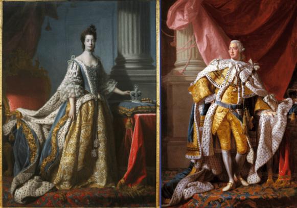 George III_Charlotte_Coronation