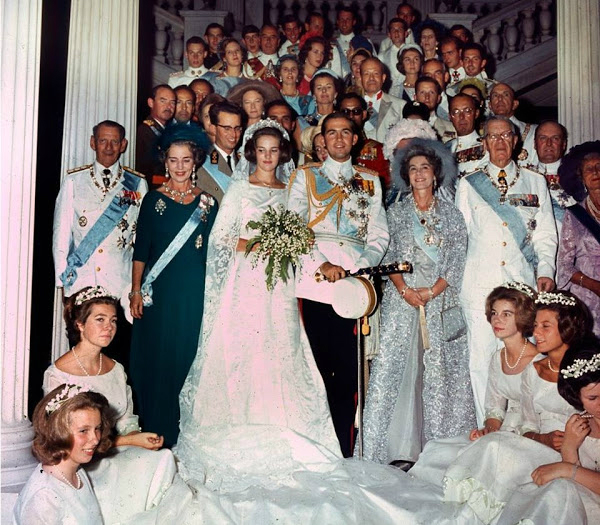 Wedding of King Constantine II of Greece and Princess Anne-Marie of ...