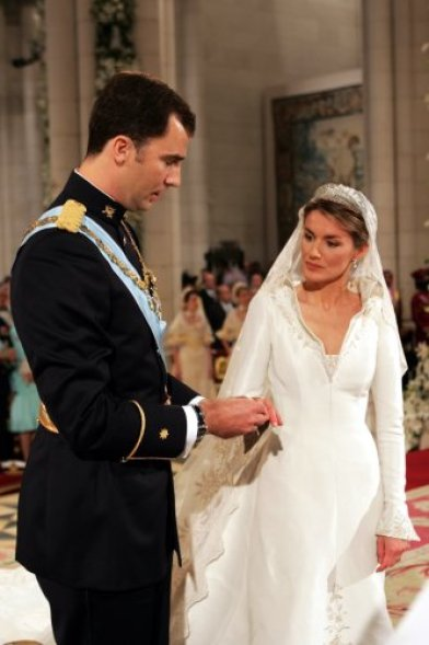 Wedding of King Felipe VI of Spain and Letizia Ortiz Rocasolano ...