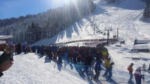 Red Dog line this morning (Photo: Chris Baker)