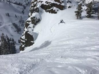 Valleygirl skiing Heidi's (Photo: J Allen)