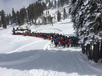 The line at Scott (Photo: Shred Babcock)