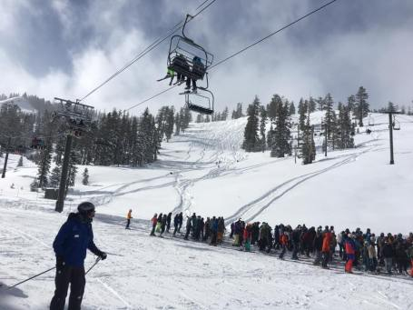 The line at Yellow chair (Photo: Shred Babcock)