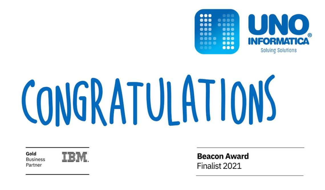Uno Informatica Selected as 2021 IBM Beacon Award Finalist for Digital Marketing Excellence
