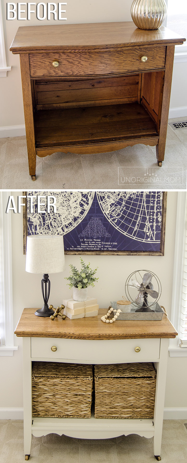 Orc 5 Farmhouse Cabinet Makeover Unoriginal Mom