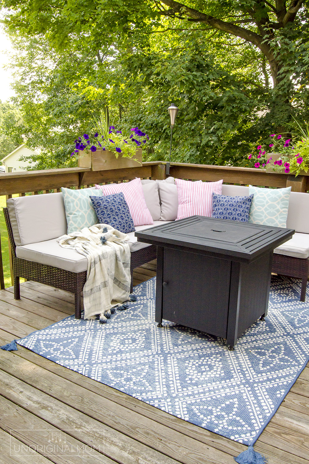 small deck decorating ideas our deck