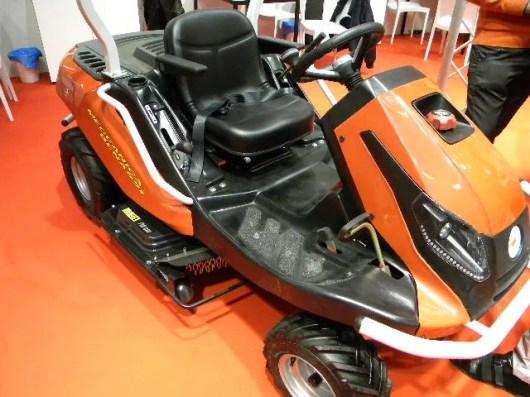 Trattorino Daytona Meccanica Benassi EIMA2018