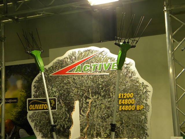 Scquotitore olive Active EIMA 2018