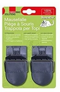 trappola per topi di plastica