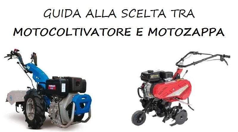logo guida alla scelta tra motocoltivatore e motozappa