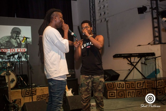 Ko-jo Cue with Pappy kojo
