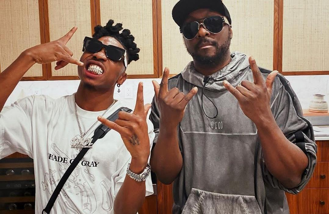Mayorkun Set to Work with Will-I-Am on New Black Eyed Peas Album