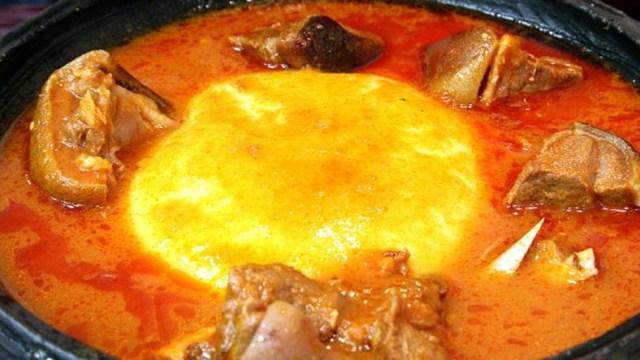 Fufu Goat Light soup