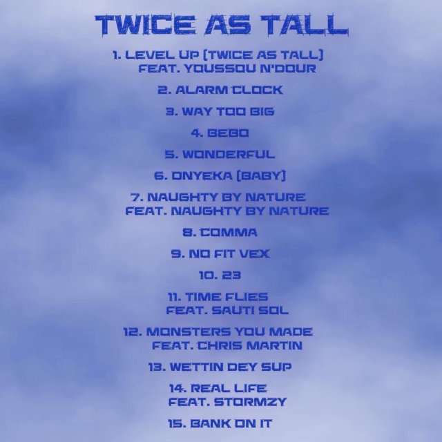 Twice As Tall Tracklist