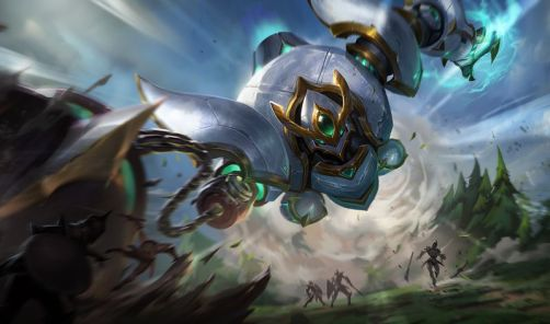 Lancer Paragon and Rogue Blitzcrank skin