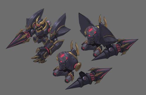 Rogue Blitzcrank concept art