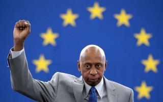 El opositor cubano tras recibir el Premio Sajarov en el Parlamento de Estrasburgo PATRICK SEEGER Efe