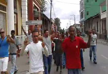 Activistas de la UNPACU en Guantánamo