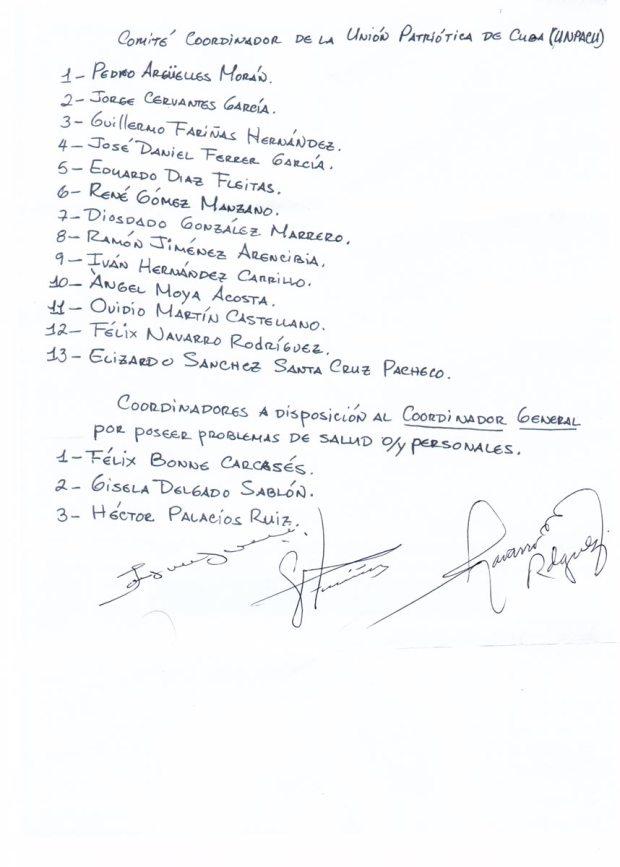 Comité Coordinador de la UNPACU