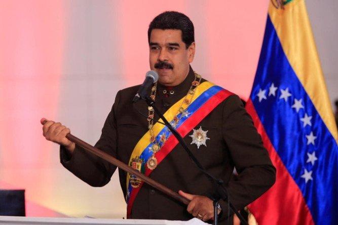 El usurpador Nicolás Maduro