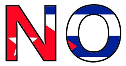 NO a la nueva Constitución de Cuba