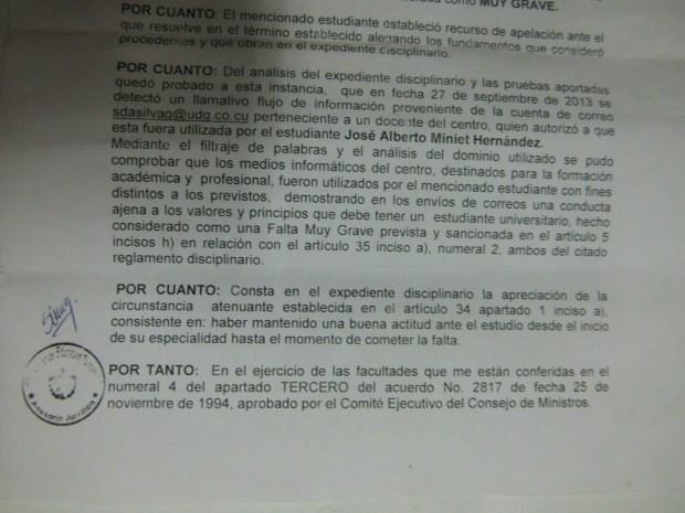 Resolución Ministerial página 1 - Detalle de fin de página