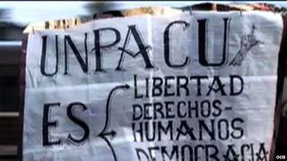 UNPACU pancarta