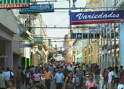 Calle Enramadas, Santiago de Cuba