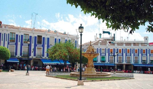 Plaza de España_Valdepeñas