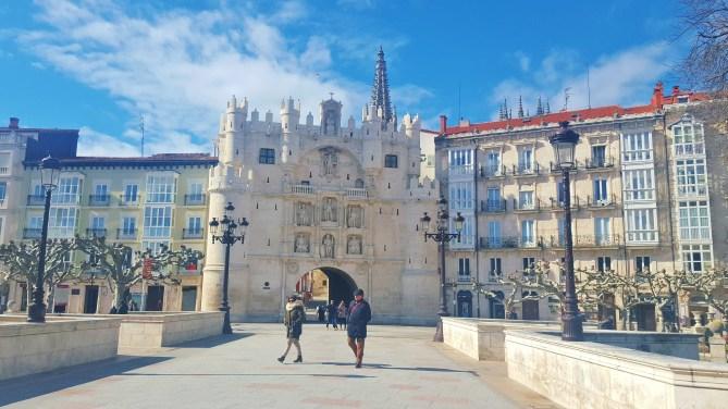 Burgos - Arco Santa María