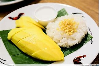Tango with mango sticky rice