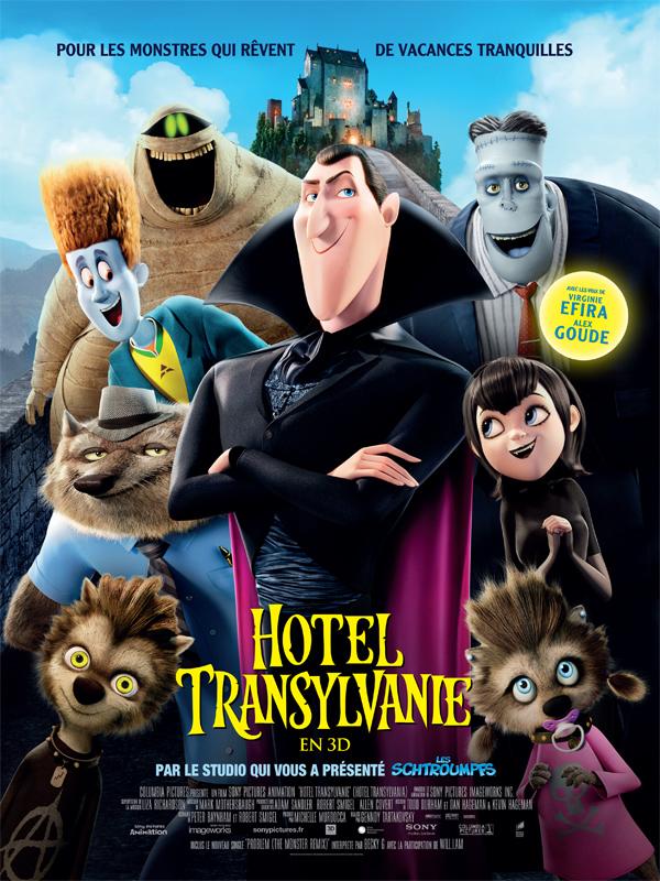 Affiche film Hotel Transylvanie