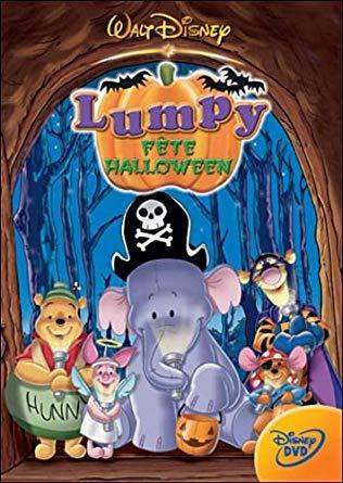 Affiche film Winnie l'Ourson - Lumpy fête Halloween