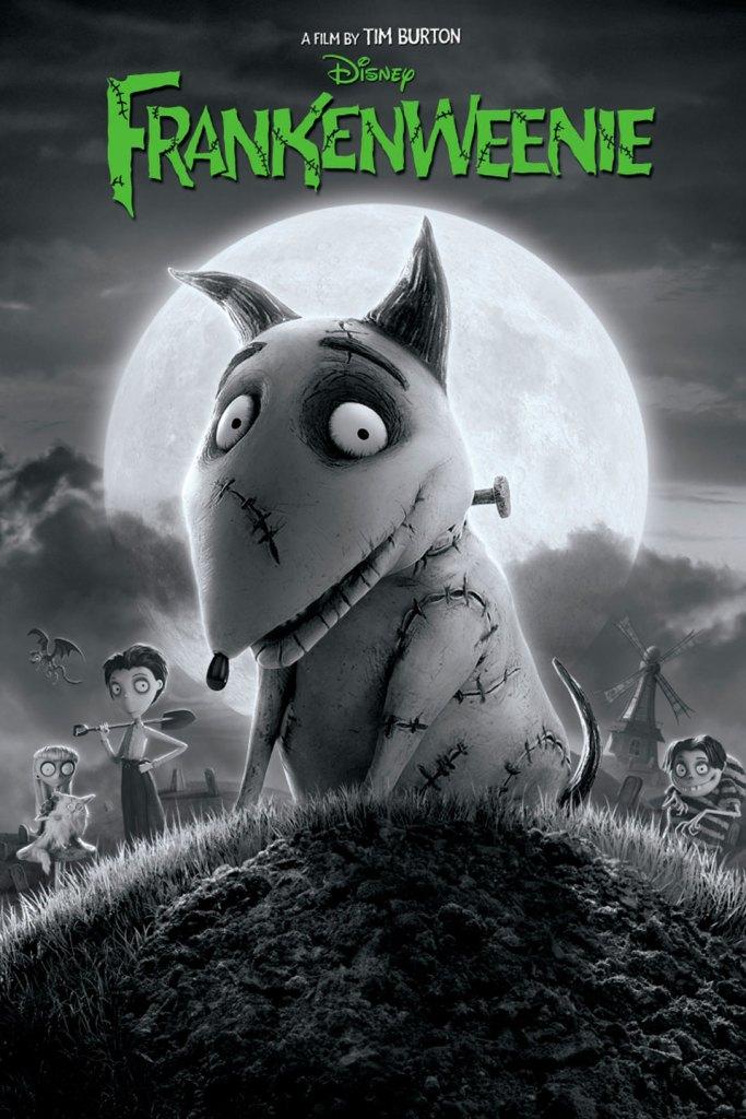 Affiche film Frankenweenie