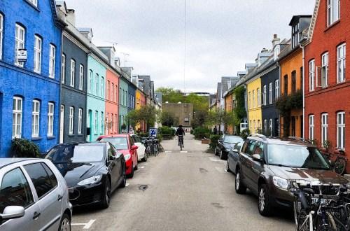 Une rue à Copenhague