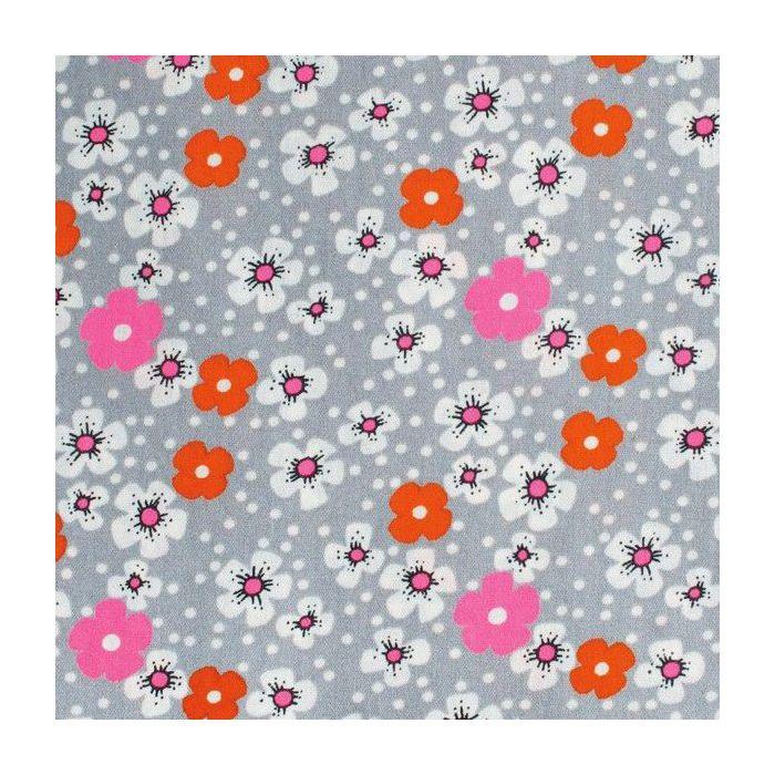 tissu enduit fleurs des iles petit pan un peu de ci un peu de ca