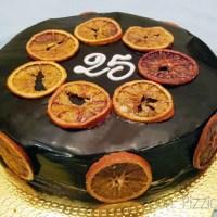 Torta chantilly al Grand Marnier, pistacchio e cioccolato