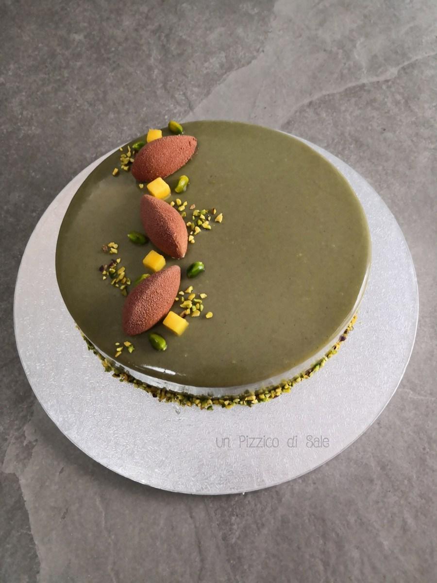 Torta esotica al pistacchio