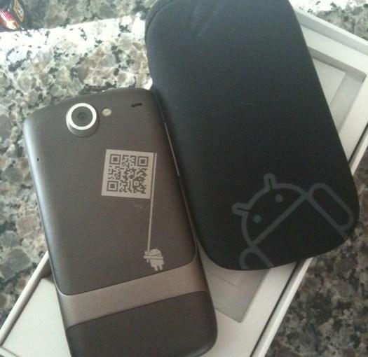 Y aun mas fotos del Google phone o Nexus