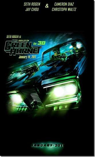 The Green Hornet Movie Poster