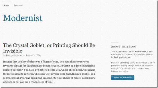 modernist-theme-wordpress