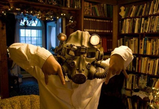 Haciendo un casco de Fallout 3