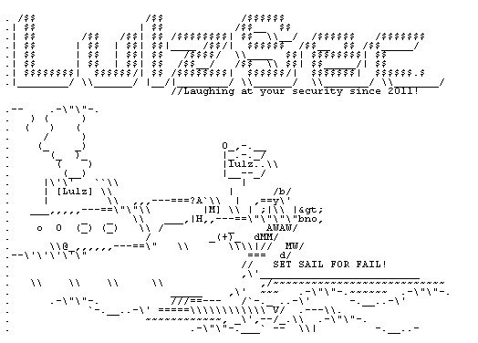 LulzSec se retira pero antes, deja un regalito