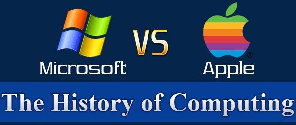 La historia de la computación: Apple VS Microsoft