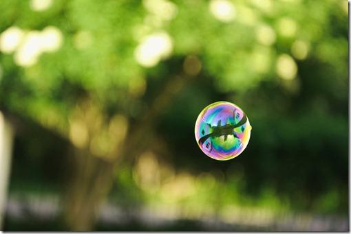 A soap bubble, Sweden