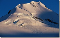 Mountain Peak on Wiencke Island, Antarctica